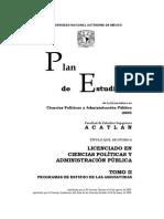 Programa Cp y AP