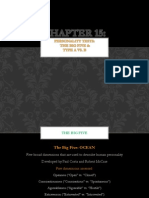 psychology 15 - the big five and type a vs  b