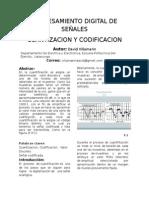 cuantizacion y codificacion
