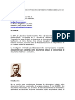Falsificacion de Dos Documentos Historicos Norteamericanos en Latinoamerica