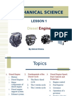 Mechanical Science 2 Diesel Engine