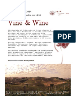 2014.06.06 - Vine and Wine Flyer