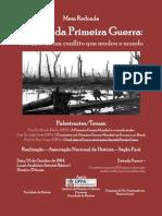 Cartaz - Mesa Redonda - Primeira Guerra
