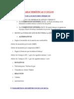 Características y Ciclos Pistones