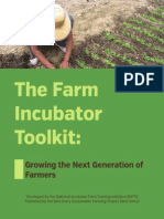 The Farm Incubator Toolkit - Providing Training & Technical Assistance to Aspiring & Beginning Farmers in Massachusetts