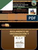 PPT REGLAMENTOS DE ORGANIZACIÓN Y FUNCIONES ROF.pptx
