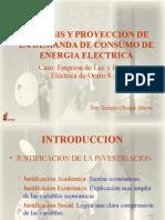 Perfil Analisis y Proyeccion