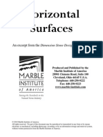 Dimension Stone Design Manual V7 Horizontal Surfaces