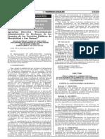 Nuevo Procedimiento de Reclamos Osinergmin No.269-2014-Os-CD