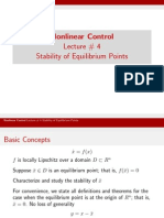 Lect_4 Stability of Equilibrium Points