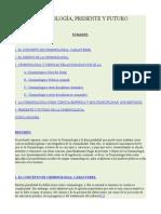 CRIMINOLOGÍA, PRESENTE Y FUTURO.doc