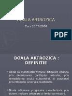 Curs Si 2. Boala Artrozica - Copy - Copy