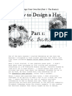How to Design Your Own Hat
