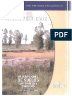 Estudio Agrológico IX Región 2013