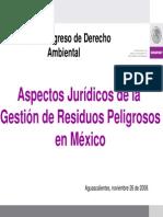 Aspectos Juridicos de La Gestion de Rp en Mexico
