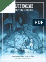 BLUEHOLME Prentice Rules 1 3 OSR RPG