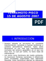 Terremoto Pisco 2007