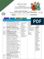 AGENDAS 2015 Primera Unidad