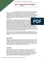 Capítulo 1_ Semiología y Exploración Neurológica (Apuntes de Neurología)