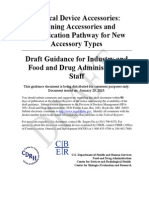FDA Draft Guidance Medical Device Accesories Text