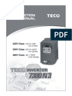 TECO N3 Instruction Manual