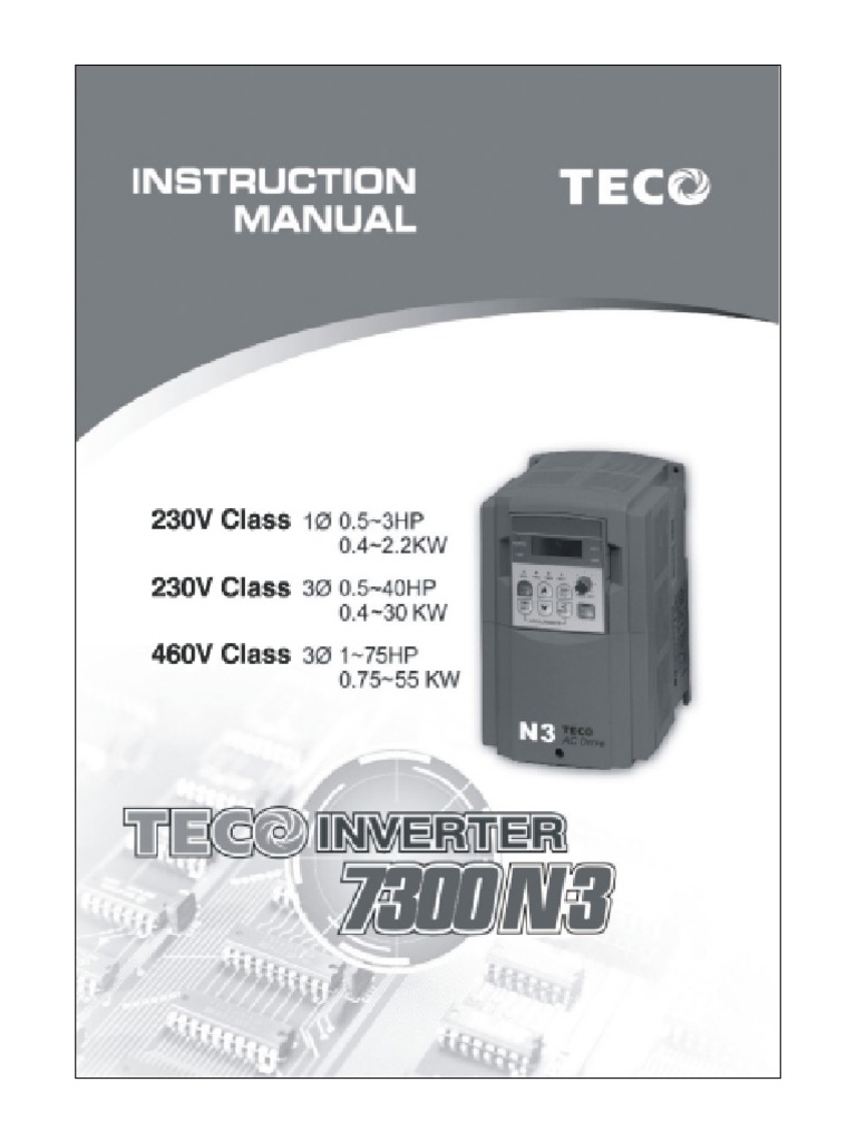 Prime Teco N3 Instruction Manual Power Inverter Power Supply Wiring Digital Resources Helishebarightsorg