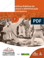 Apostila 02 Políticas Públicas e Administração Pública Participativa