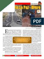 Doble via La Paz Oruro