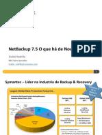 NetBackup 7.5 O Que Há de Novo
