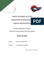 analisis de circuitos en mallas