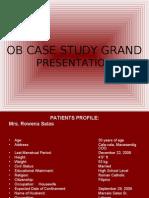 Ob Case Study Grand