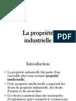 La Propriété Industrielle