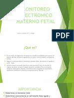 Monitoreo Electronico Materno Fetal