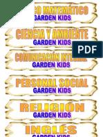 Etiquetas Garden Kids