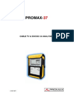 PROMAX 3750years Manual