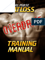 Finall Phase Fat Loss Overdrive Training Manual