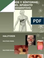 Signos y Síntomas Del Aparato Digestivo