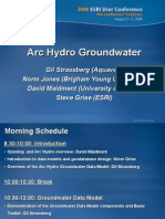 Arc Hydro Groundwater Introduccion