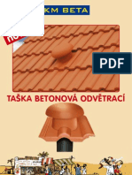 KM Beta - leták TAŠKA BETONOVÁ ODVĚTRACÍ