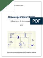 El Motor-generador Bedini
