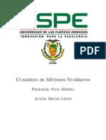 Manual de metodos numericos