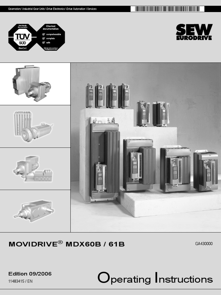 Sew Movidrivers | Electrical Connector | Power Inverter