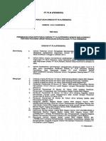 527K_DIR_2014_Perubahan Keputusan Direksi 620 Pedoman Umum PBJ