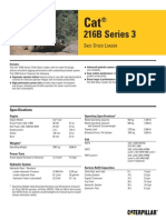 Cat® 216B Series 3 SKID STEER LOADER