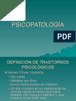 Transtornos Psicopatológicos