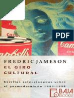 El Giro Cultural - Fredric Jameson