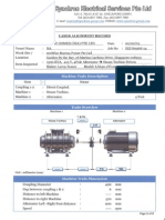Laser Alignment Sample report