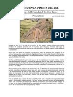 Contacto en La Puerta Del Sol (Primera Parte)