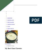 Recipe Box Clamchowder