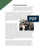 Biografía de Jaime Escalante
